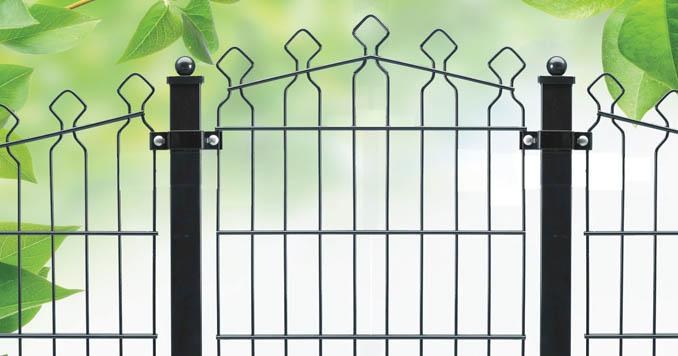 Welded Panel Fence Jeddah, UAE   Decorative Fence Medina